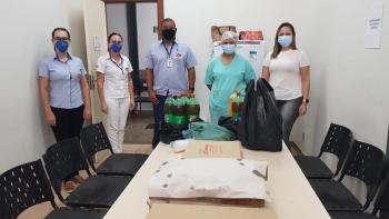 <p><p><b>FUNCIONÁRIOS DO HOSPITAL PADRE LIBÉRIO RECEBEM LANCHES</b></p><br></p>