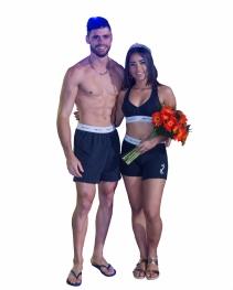Garoto e Garota Piscina 2017: Alef Marinho (Arena) e Camila Duarte (Top Life de S. J. da Varginha)