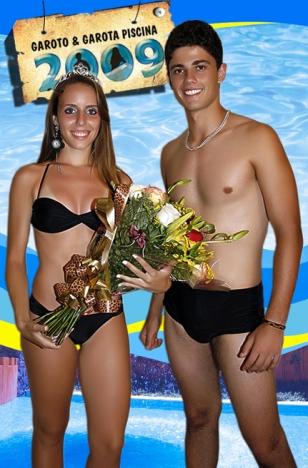 Garoto e Garota Piscina 2009: Yara Araújo e Antônio Monteiro (Vip Academia)